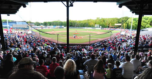 Phil Welch Stadium at capacity.JPG